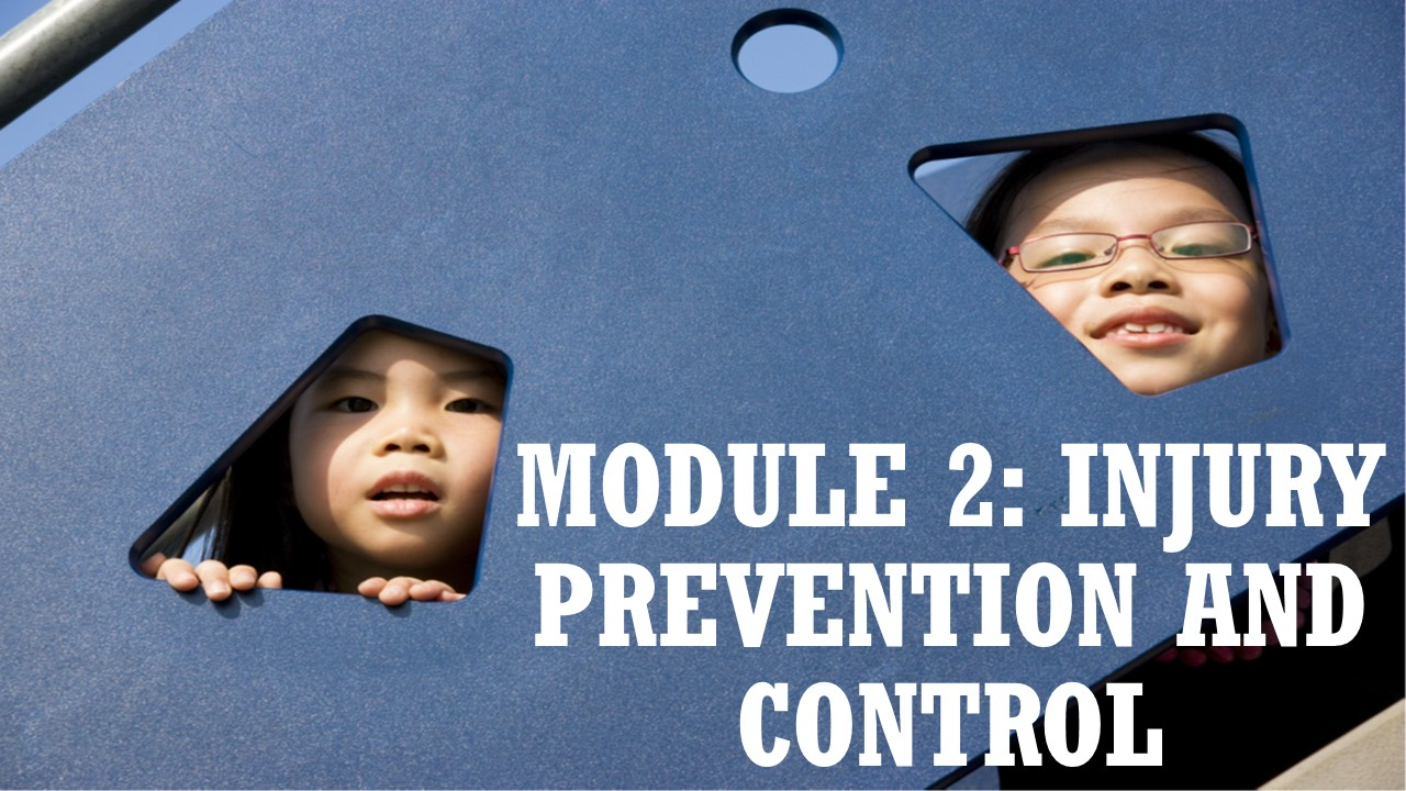 Module 2: Injury Prevention and Control