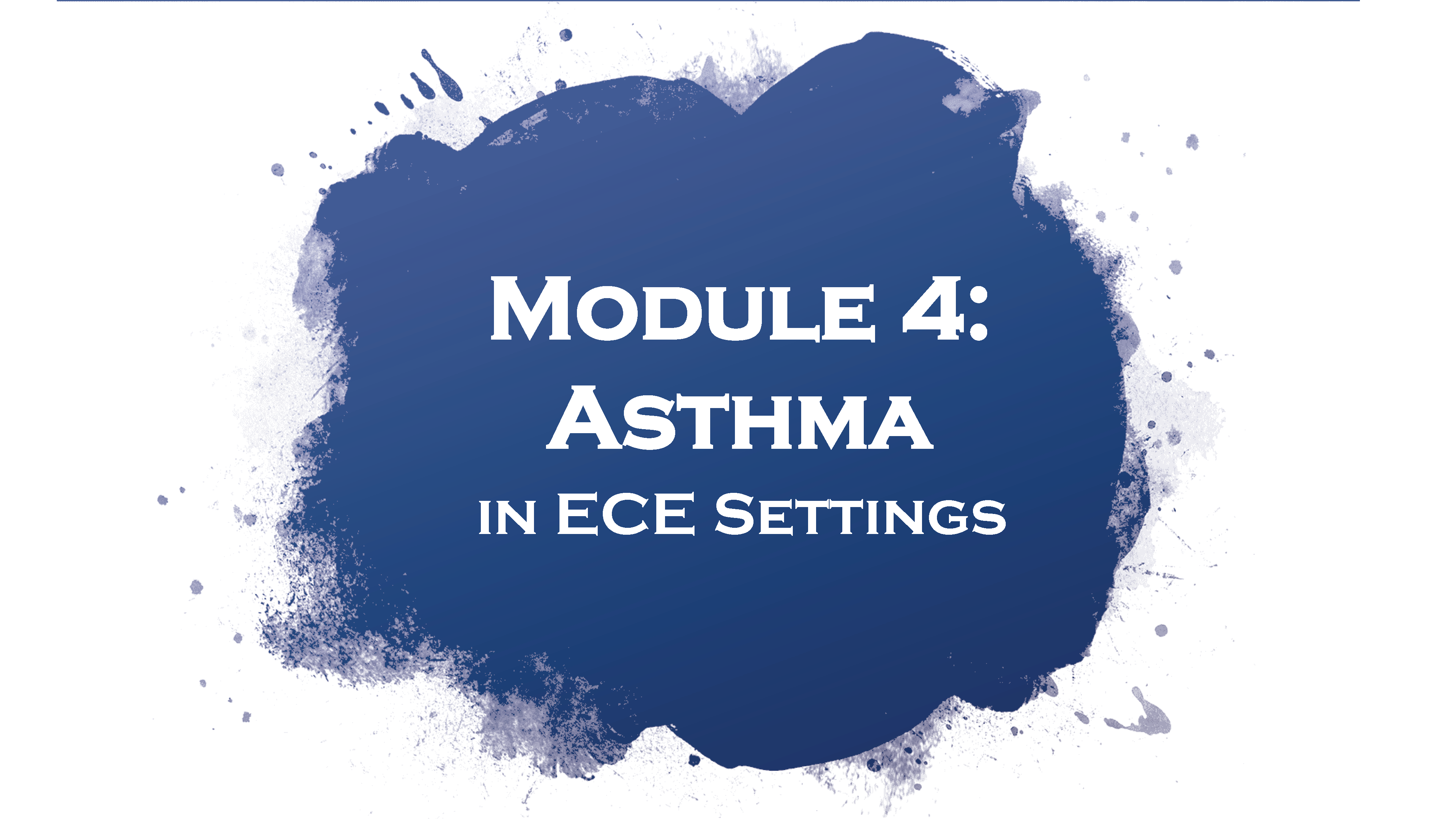 Asthma in ECE Settings cover image