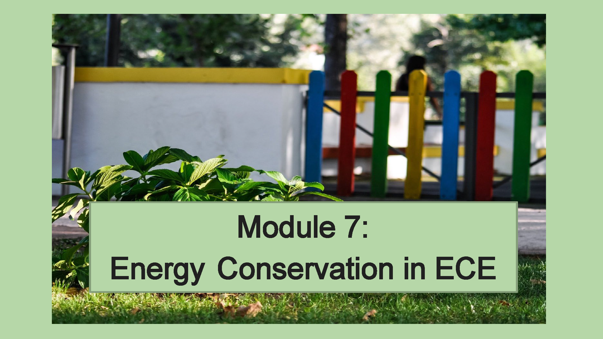 Energy Conservation cover image