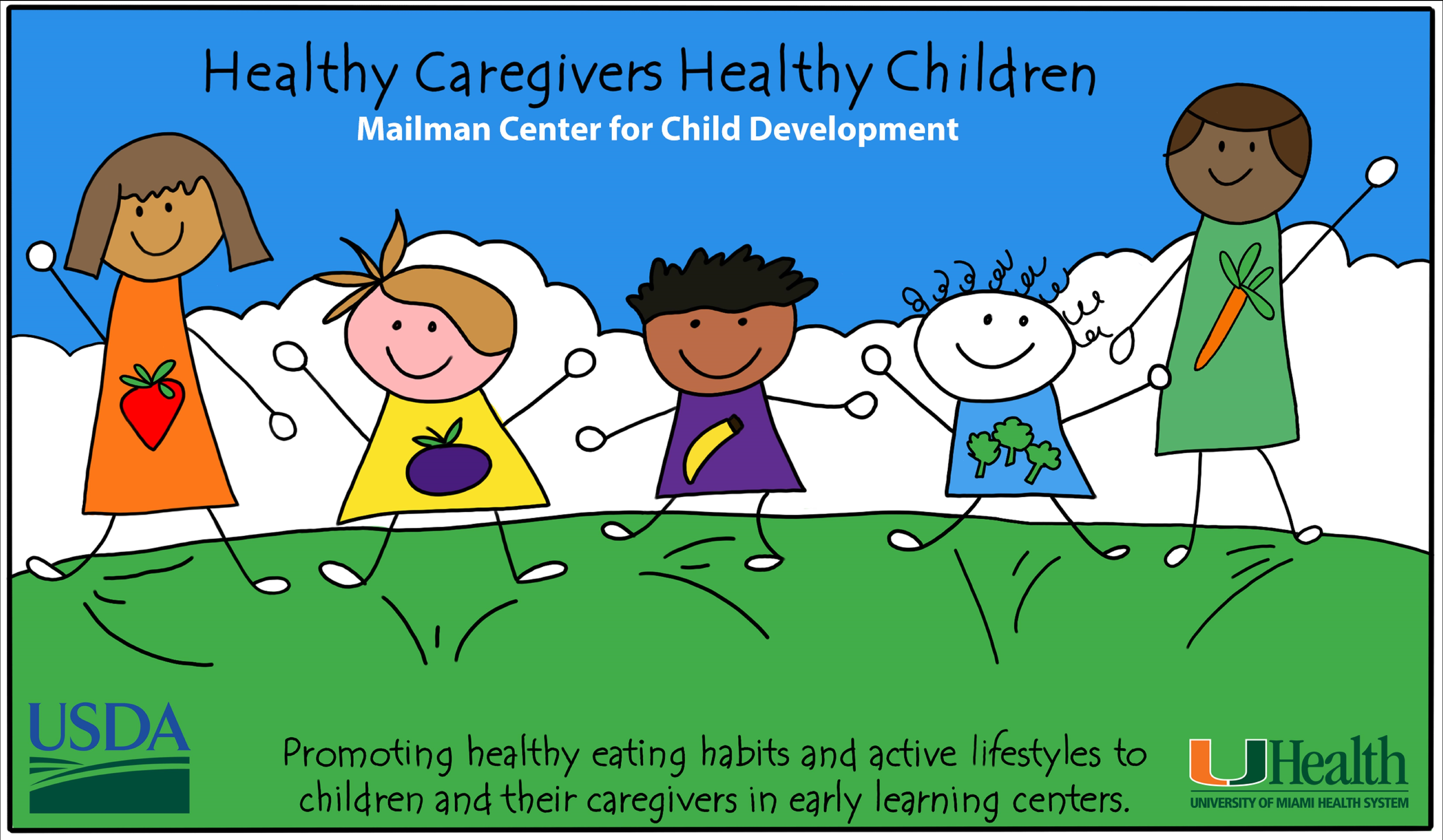 Healthy Caregivers Healthy Children logo
